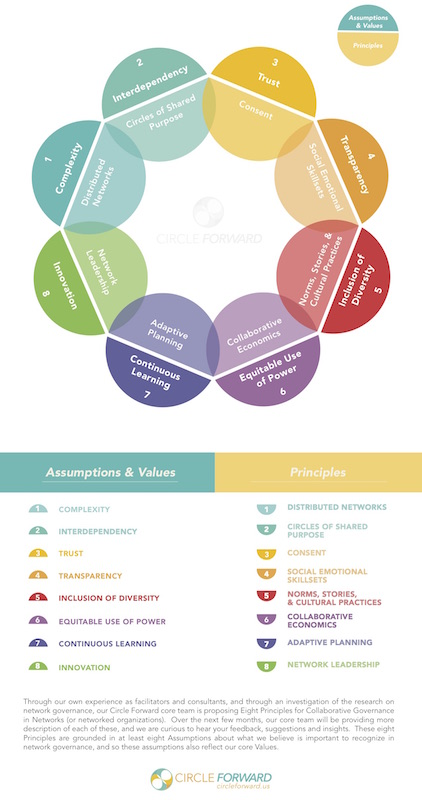 8 Principles For Collaborative Governance Infographic