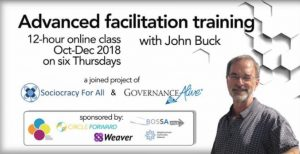Announcing Meeting Facilitation Training with John Buck
